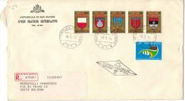 SAN MARINO - 1974 - TORNEO DELLA BALESTRA + Giornata Filatelica San Marino-Riccione - FDC - Ufficio Filatelico Govern... - FDC