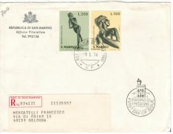 SAN MARINO - 1974 - EUROPA - FDC - Ufficio Filatelico Governativo - RACCOMANDATA - FDC