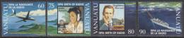 VANUATU, 1996 RADIO 4 MNH - Vanuatu (1980-...)