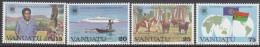 VANUATU, 1983 C/WEALTH DAY 4 MNH - Vanuatu (1980-...)