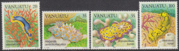 VANUATU, 1985 NUDIBRANCHES 4 MNH - Vanuatu (1980-...)