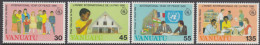 VANUATU, 1986 YEAR OF PEACE 4 MNH - Vanuatu (1980-...)
