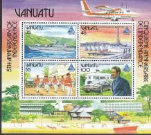 VANUATU, 1985 EXPO/ANNIVERSARY MINISHEET MNH - Vanuatu (1980-...)