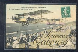 14 - Planant Au Dessus De CABOURG, Je Vous Adresse Un Aérien Salut - Cabourg