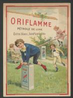 Oriflamme, Pétrole De Luxe, Chromo Lith. Champenois, Thème Jeux, Enfants, Saut De Mouton - Other