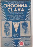 (az3)oh! Donna Clara ; PIERRE MEYER , MISS FLORENCE , LES JACKSON BOYS , Musique : J . PETERSBURSKI - Spartiti