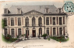 80 Abbeville Le Musée Boucher De Perthes Colorisée Carte Preecurseur - Abbeville