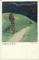Theme Illustrateur Adalbert Holzer Avant L Orage S'wetter Kommt Hermann Wieckmann Munchen N° 305 - Holzer, Adi