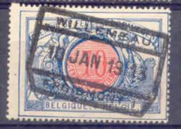 K008 -België  Spoorweg Chemin De Fer  Met Stempel  WILLEMEAU - 1895-1913