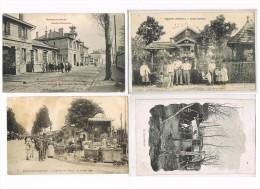93 - 220 Cartes Postales Anciennes Du Département. - Frankrijk