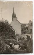 29. Saint Jean Du Doigt. Entrée Du Bourg, Vu Du Pont. Manque En Haut - Saint-Jean-du-Doigt