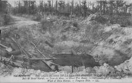 Les Ruines De La Grande Guerre Bois De Beau Marais Trou De Mine Etat Parfait - Guerre 1914-18