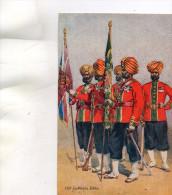 CPA - OUR INDIAN ARMIES N°21 - 071 - Reggimenti