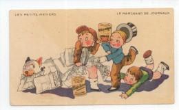 PUB - Blécao - Les Petits Métiers - Le Marchand De Journaux - Publicité