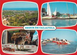 España--Tarragona--1979--Segur De Calafell--Diversos Aspectos De La Playa - Tarragona