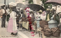 JAMAIQUE - KINGSTON - ROPE TOBACCO SELLERS  - 1908  JAMAICA - Cartes Postales