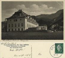 Postkarte Ohlstadt Haushaltungsschule Maria Heimgarten 1931 #01 - Garmisch-Partenkirchen
