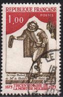 FRANCE : N° 1771 Oblitéré (Tricentenaire De La Mort De Molière) - PRIX FIXE - - France