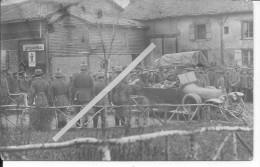 Meuse?argonne?lorraine? Cinéma Théâtre Musique Affiche Sur La Porte 1 Carte Photo 1914-1918 14-18 Ww1 WwI Wk - War, Military