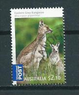 2009 Australia $2,10 SHEET Grey Kangaroo,animals,dieren,tiere Used/gebruikt/oblitere - 2000-09 Elizabeth II