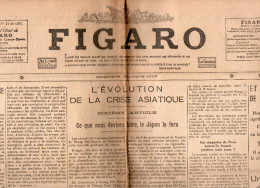 Le Figaro Du  Lundi 20 Fevrier   1933 - General Issues