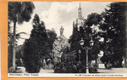 Santiago 1905 Postcard - Chile