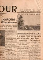 Le Jour Du Lundi 23 Décembre 1935 - General Issues