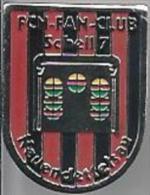 Pins. Football. FCN - Fan-Club Schell 7  Neuendettelsau. - Voetbal