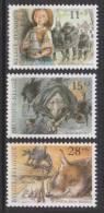 Belgique N° 2465 - 2466 - 2467 *** Culturelle - Légendes - 1992 - Unused Stamps