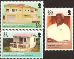 British Virgin Islands 2010 - Ancien Et Nouveau Bureau De Poste - V Neufs // Mnh - British Virgin Islands