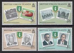 British Virgin Islands 2008 - Armoires, Batiments Du Gouvernement - 4v Neufs // Mnh - British Virgin Islands
