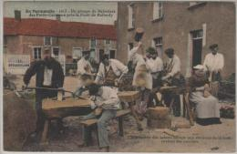 LES PETITS- CARREAUX, Forêt De BALLERDY, Groupe De Sabotiers (1013 Brocherioux) - Francia