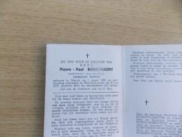 Doodsprentje Pierre Paul Bosschaert Wervik 1/3/1907 - 25/5/1973 ( Germaine Berten ) - Religione & Esoterismo