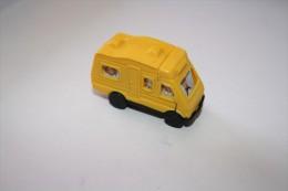 Kinder Wohnmobile N°3 Jaune K92n49 1991 - Mountables