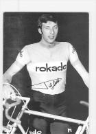 PIET DE WIT - Autographe Manuscrit - Dédicace - Equipe ROKADO - 2 Scans - Cyclisme