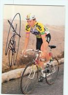 Franck FRANKEN - Autographe Manuscrit - Dédicace -  Equipe LOTTO -  Saison 1989 - 2 Scans - Cycling