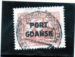 1926 Polonia - Port Gdansk - Oblitérés