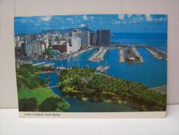 "Aerial Of Wakiki Yacht Harbor  ""Honolulu""  Hawaii  (U.S.A.) - Honolulu"