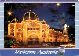 Flinders Street Railway Station, Melbourne, Victoria, Australia Postcard Posted 1993 - Melbourne