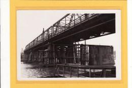 BELGIQUE/ANDENNE/OUVRAGES /PONTS/VERITABLE PHOTO ANCIENNE / Reconstruction Du Pont D´Andenne / Ripage Du Pont Provisoir - Andenne