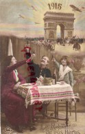 MILITARIA - GUERRE 1914-1918- 1915- ARC DE TRIOMPHE PARIS- LE RETOUR DE NOS HEROS - Guerre 1914-18