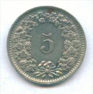 F2864 / - 5 Rappen -  1970 - Switzerland Suisse Schweiz Zwitserland - Coins Munzen Monnaies Monete - Swaziland