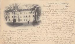CPA à Dos Non Séparé - Château De La Malgrange (54) - Entrée Principale  - Écrite, Timbrée Et Oblitérée En 1900 ! - Francia