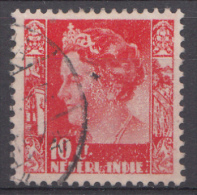 Indes Néerlandaises Nvph.nr.:253 Koningin Wilhelmina 1938 Oblitérés /Used / Gestempeld - Niederländisch-Indien