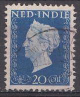 Indes Néerlandaises Nvph.nr.:338 Koningin Wilhelmina 1948 Oblitérés /Used / Gestempeld - Nederlands-Indië