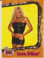 WWE 2002 Fleer Card TORRIE WILSON Absolute Wrestling Divas - Trading Cards
