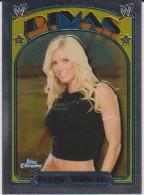 WWE DIVAS 2007 Topps Chrome Card TORRIE WILSON Wrestling Heritage Diva - Trading Cards