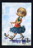 Ilustrador *Juan Vernet*. Ed. C. Y Z. Serie 6607. Nueva. - Otros Ilustradores