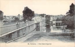 86 - Poitiers - Pont Saint-Cyprien - Poitiers