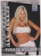 WWE 2002 Fleer Card TORRIE WILSON All Access Wrestling Divas - Trading Cards